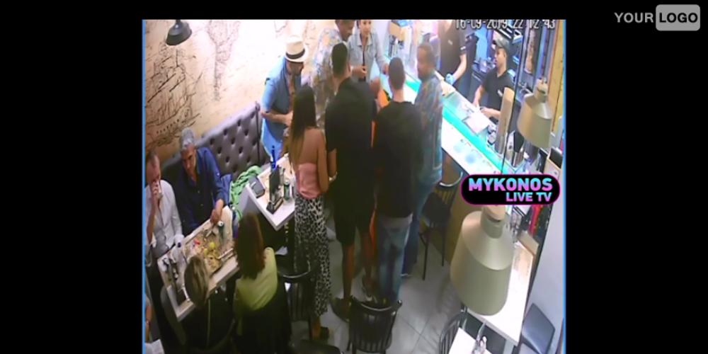 Βίντεο: Υπάλληλος σουβλατζίδικου στη Μύκονο έσωσε πελάτισσά του από πνιγμό