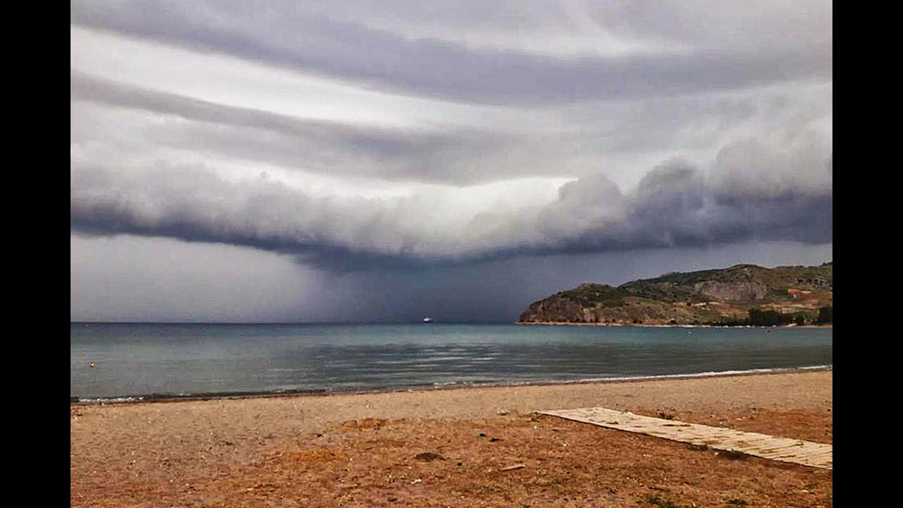 Καιρός: Πού θα εκδηλωθούν βροχές και καταιγίδες την Τετάρτη