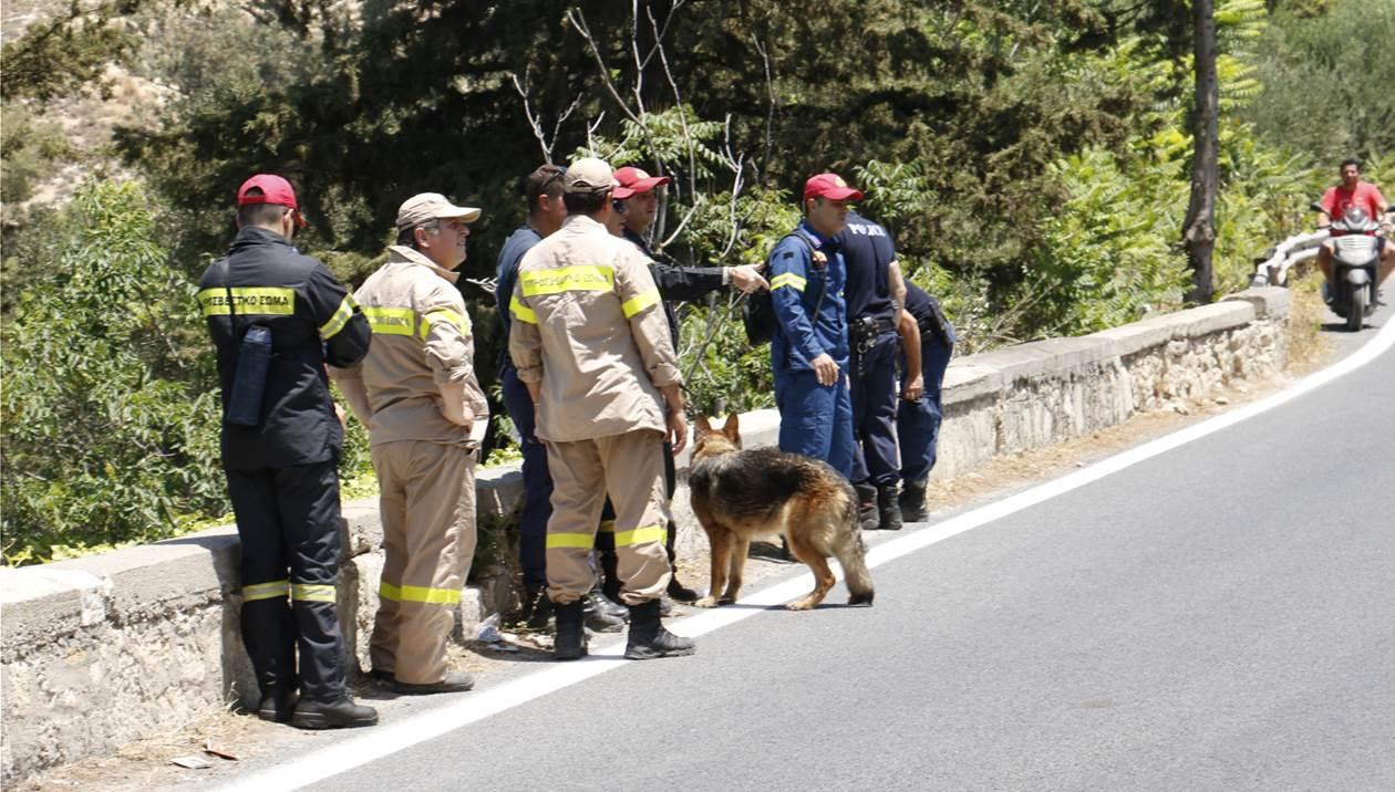 Τραυματισμένος βρέθηκε ο τουρίστας που ήρθε για διακοπές στην Κρήτη και εξαφανίστηκε