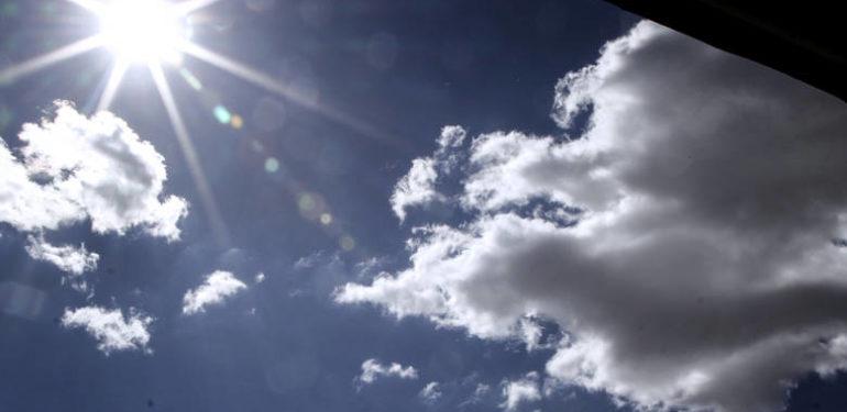 Αίθριος ο καιρός σήμερα-Δείτε πού θα βρέξει