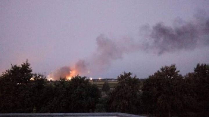 Ισχυρή έκρηξη σε διυλιστήριο στην Ιταλία – ΦΩΤΟ