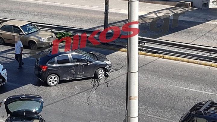 Τροχαίο ατύχημα στη Λεωφόρο Κηφισίας – ΤΩΡΑ