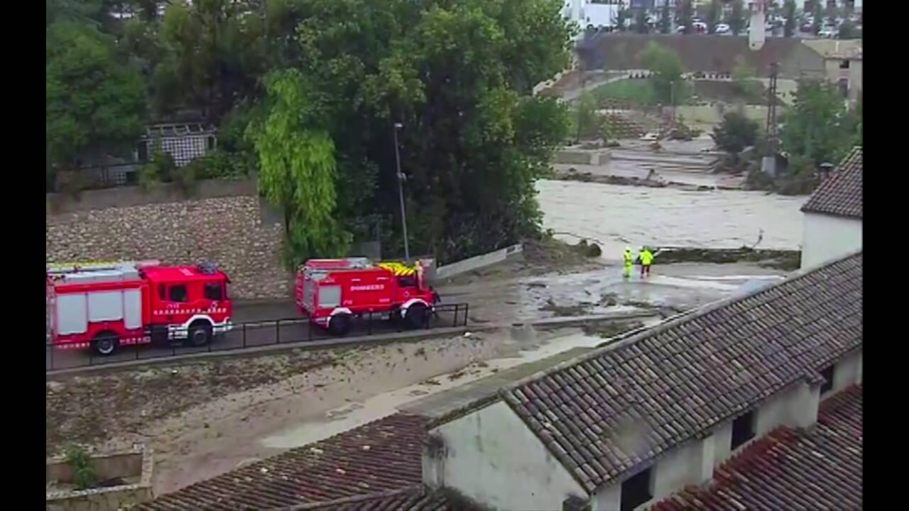 Καταρρακτώδεις βροχές πλήττουν την Ισπανία: Πέντε οι νεκροί – Εκατοντάδες άφησαν τα σπίτια τους