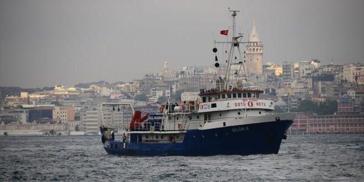 Bilim 2: Στα ανοιχτά του Καστελόριζου το τουρκικό ερευνητικό σκάφος
