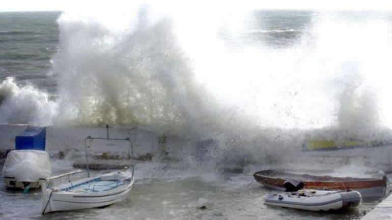 Θυελλώδεις βοριάδες και…λίγες βροχές στην Κρήτη