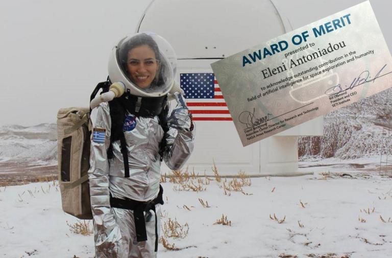 «Πόλεμος» για την ερευνήτρια Ελένη Αντωνιάδου! Απαντά με βραβείο της NASA