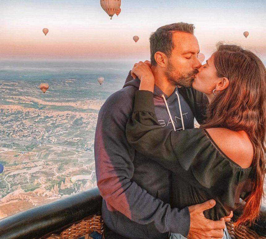 Σάκης Τανιμανίδης – Χριστίνα Μπόμπα: Όλα όσα έκαναν στο μαγικό ταξίδι τους στην Καππαδοκία! [pics,vid]