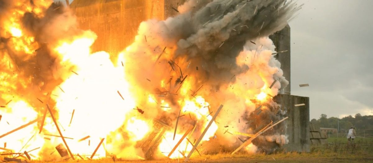 EKTAKTO: Διαδοχικές εκρήξεις στα Κατεχόμενα – Τινάχτηκαν στον αέρα αποθήκες πυρομαχικών – Δείτε βίντεο