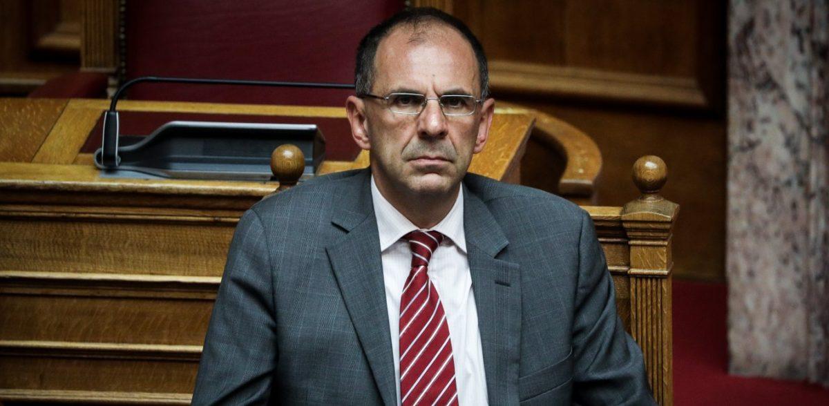 Γιώργος Γεραπετρίτης: Καμία υποχωρητικότητα στην Τουρκία
