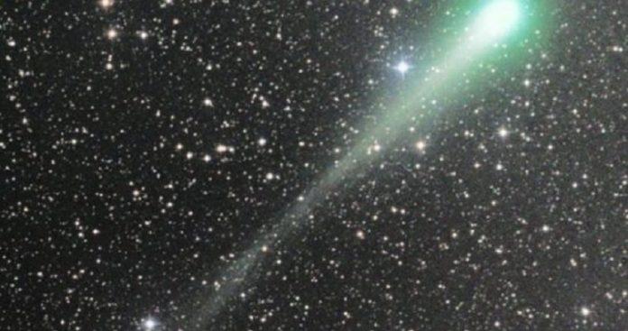 Κομήτης- επισκέπτης, ίσως από άλλο ηλιακό σύστημα, κοντά στη Γη