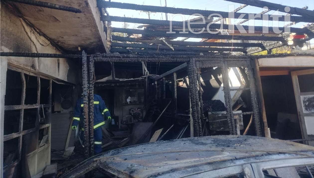 Εμπρησμός πίσω από τη φωτιά στο εργοστάσιο ξυλείας – Ποιος αναζητείται;
