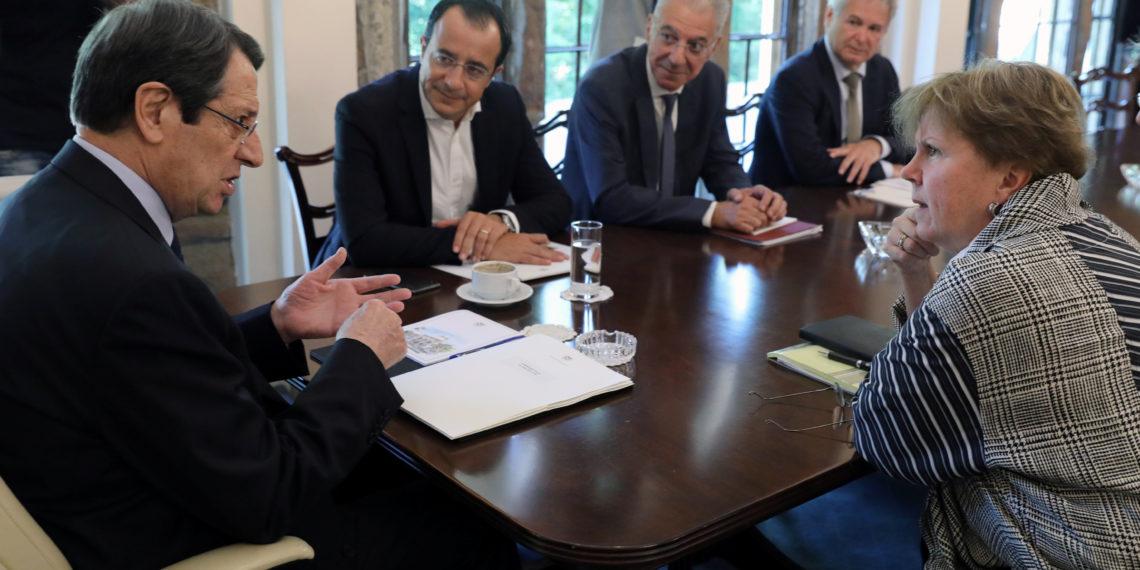 Αναστασιάδης: Δεν εκβιαζόμαστε από την τουρκική απειλή κανονιοφόρων [vid]