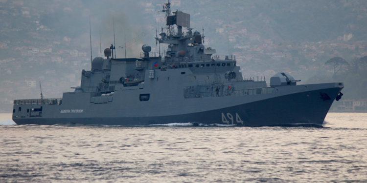 Στην Κέρκυρα έδεσε ο «Ναύαρχος Μακάροφ» του στόλου της Μαύρης Θάλασσας