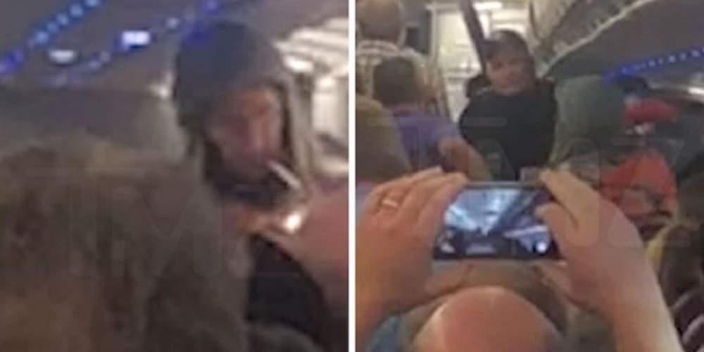 «Μερακλής» επιβάτης κάπνισε μαριχουάνα μέσα σε αεροπλάνο στις ΗΠΑ [βίντεο]