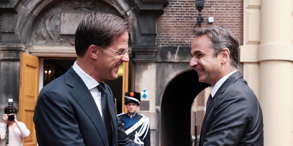 Μήνυμα Μητσοτάκη από την Ολλανδία: Δεν μπορούν χώρες να είναι μέλη της Σένγκεν χωρίς να έχουν ευθύνες