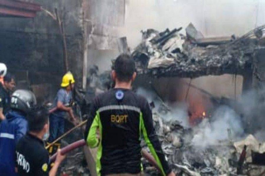 Συνετρίβη αεροσκάφος σε τουριστική περιοχή στις Φιλιππίνες
