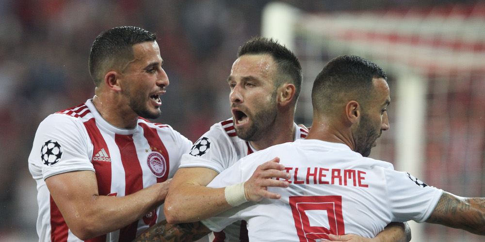 Champions League: Τεράστια εμφάνιση του Ολυμπιακού, 2-2 με την Τότεναμ στο «Καραϊσκάκης»