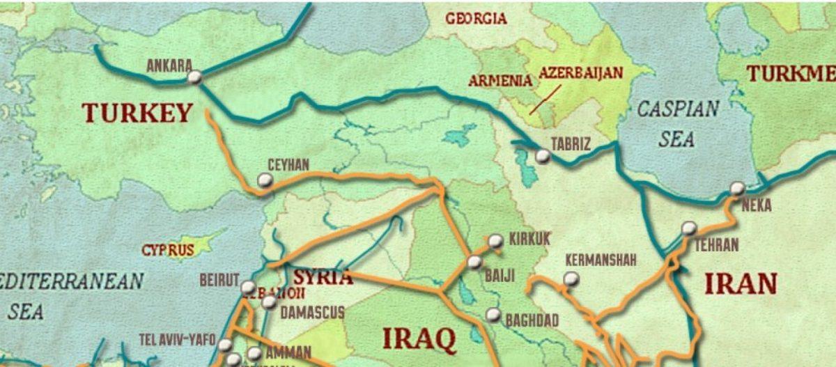 Αλλαγή δεδομένων από Ρωσία: Κολοσσιαίος αγωγός πετρελαίου θα μεταφέρει το ιρανικό & το ιρακινό πετρέλαιο στην Μεσόγειο!