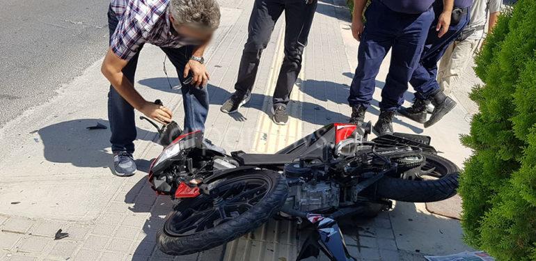 Ρέθυμνο: Σοβαρό τροχαίο με τραυματία 33χρονο μοτοσικλετιστή | ΦΩΤΟ