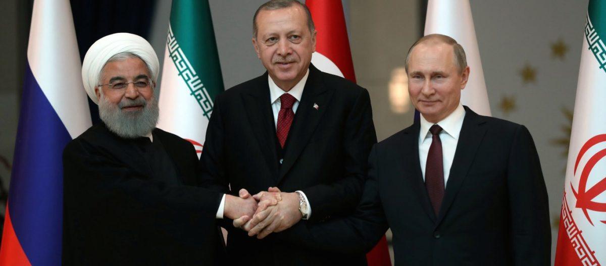 Κίνδυνος σύγκρουσης με ΗΠΑ – Ρωσία, Τουρκία και Ιράν συμφώνησαν στην έναρξη στρατιωτικών επιχειρήσεων κατά του YPG!