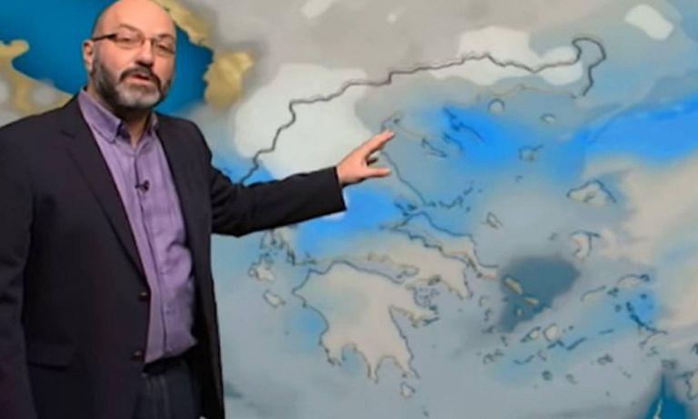 Πρόγνωση καιρού: Βροχές και καταιγίδες την Πέμπτη – Τι προβλέπει ο Σάκης Αρναούτογλου