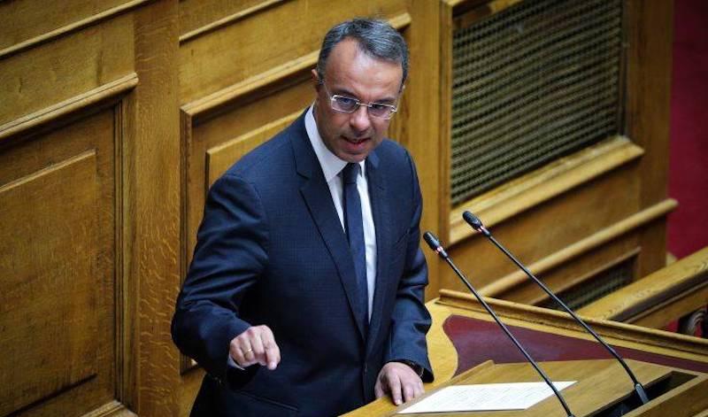 Σταϊκούρας: Η οικονομία βγαίνει στο ξέφωτο αλλά οι κίνδυνοι δεν πέρασαν!