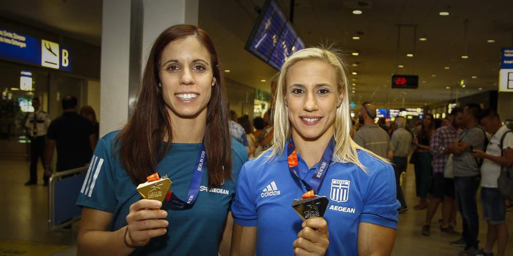 Παγκόσμιο Πρωτάθλημα Στίβου: Στη μάχη για μετάλλιο σήμερα Στεφανίδη-Κυριακοπούλου