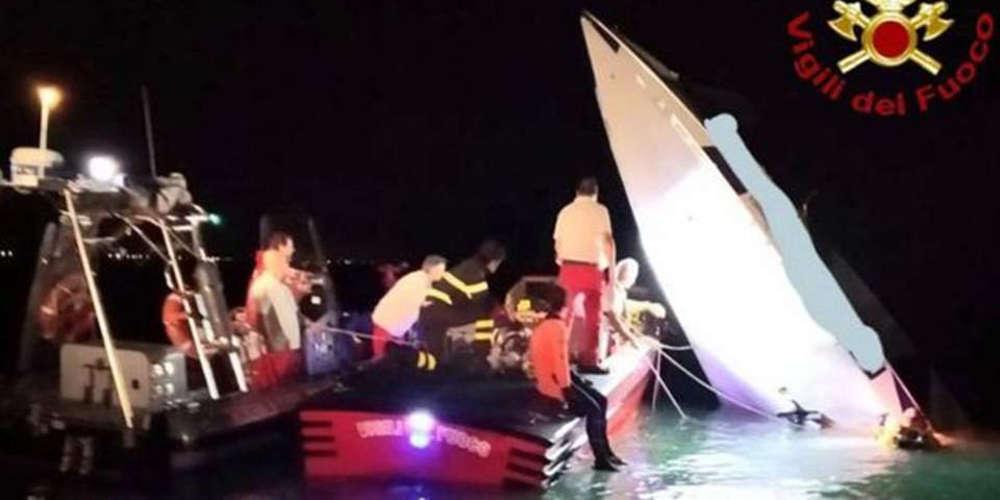 Το κυνήγι του ρεκόρ κατέληξε σε τραγωδία: Τρεις νεκροί από συντριβή ταχύπλοου στη Βενετία