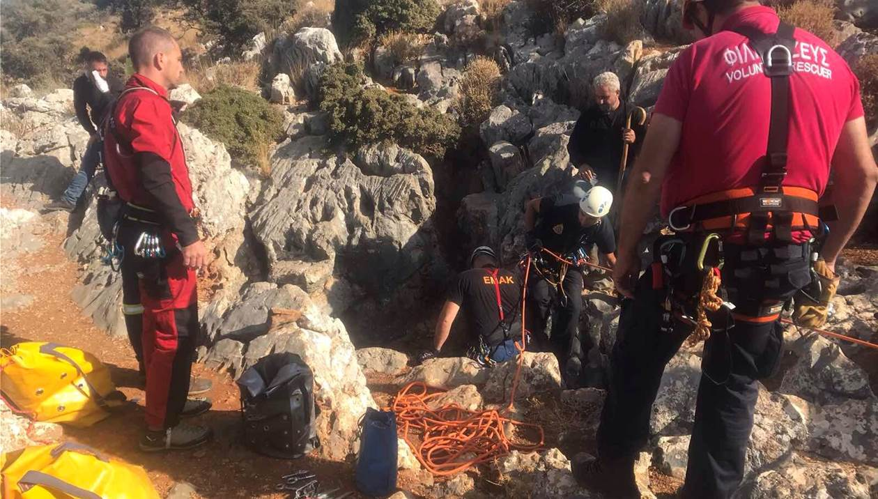 Αστυράκι: Έπεσαν σε τρύπα 70 μέτρων για να βρουν τον Δ. Μαρκάκη – Τι έδειξαν οι έρευνες