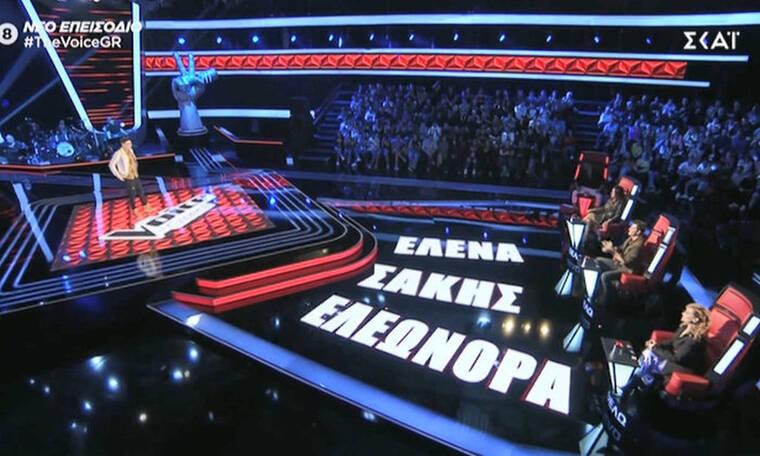 The Voice: O αδελφός πασίγνωστου Έλληνα τραγουδιστή στη σκηνή του τάλεντ σόου! Πέρασε; (video+pics)