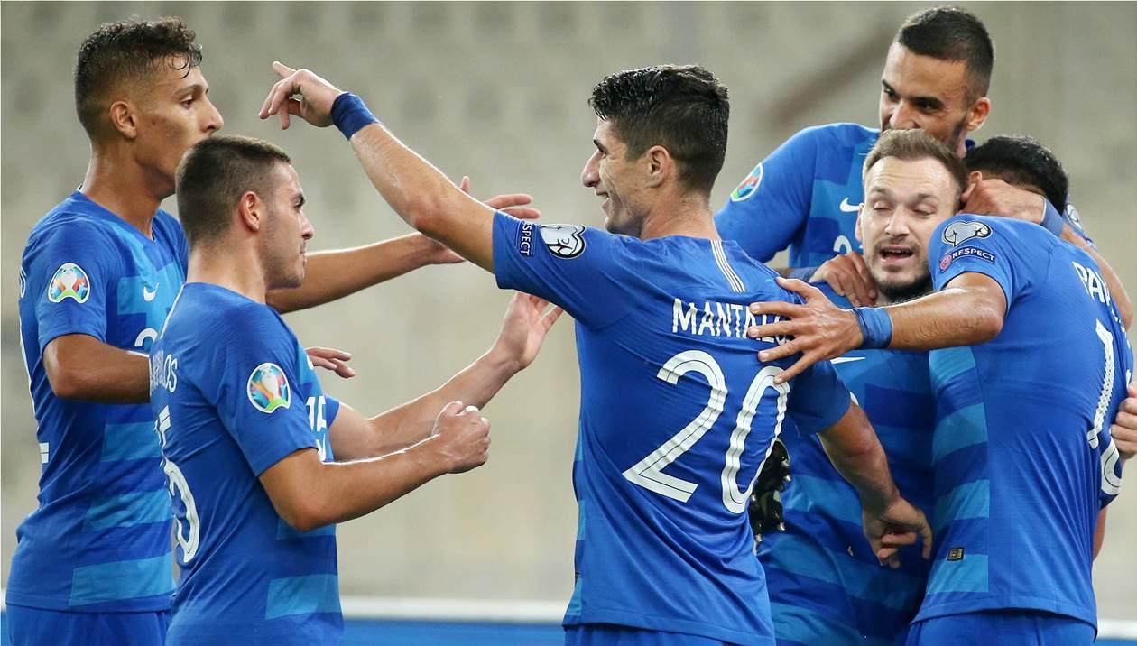 Πανάξια νίκη για την Εθνική με 2-1 επί της Βοσνίας
