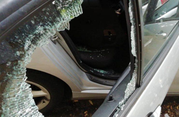 Έσπασαν το αυτοκίνητο της Έλενας Ράπτη