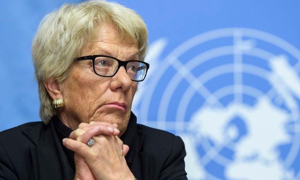 Κάρλα ντελ Πόντε κατά Ερντογάν: Να απαγγελθούν σε βάρος του κατηγορίες για εγκλήματα πολέμου