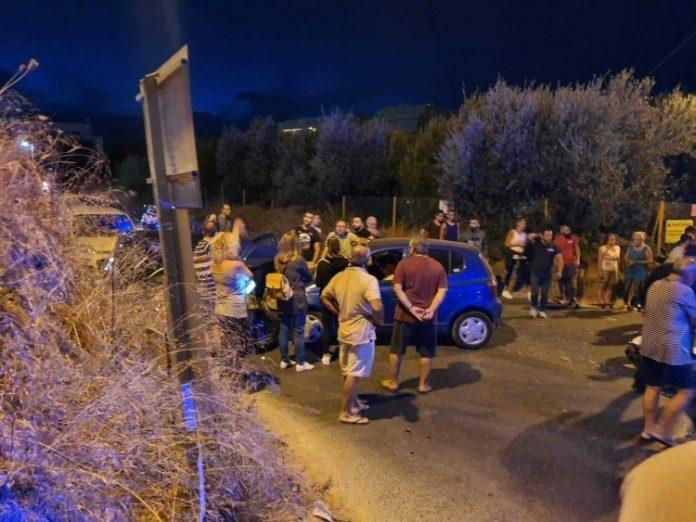 Ντελιβεράς τραυματίστηκε σοβαρά σε τροχαίο στις Μεσαμπελιές