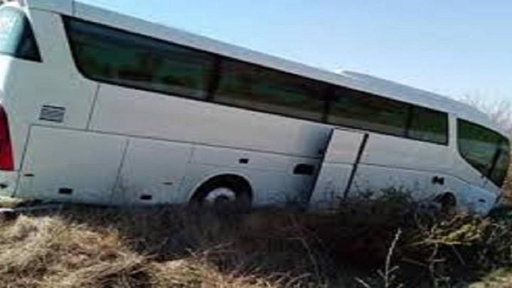 Συναγερμός για εκτροπή λεωφορείου που μετέφερε ηλικιωμένους