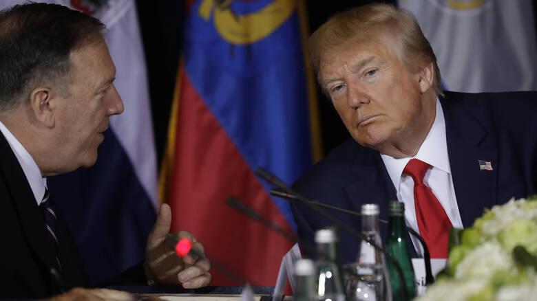 Πομπέο: Ο Τραμπ είναι προετοιμασμένος ακόμη και για στρατιωτική επιχείρηση κατά της Τουρκίας