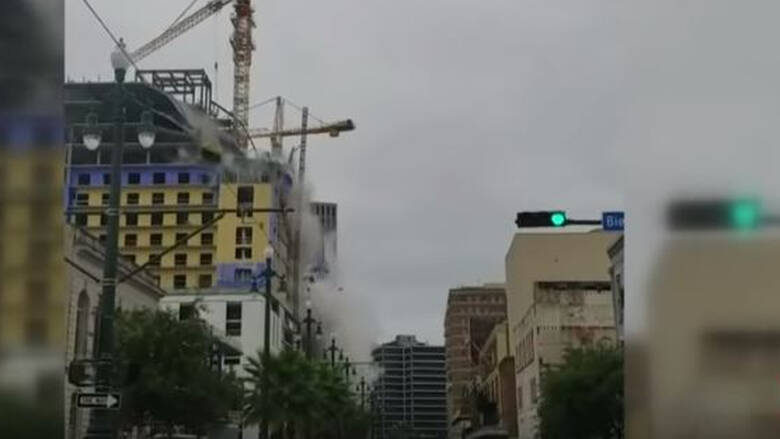 Νέα Ορλεάνη: Κατέρρευσε ξενοδοχείο υπό κατασκευή – Ένας νεκρός