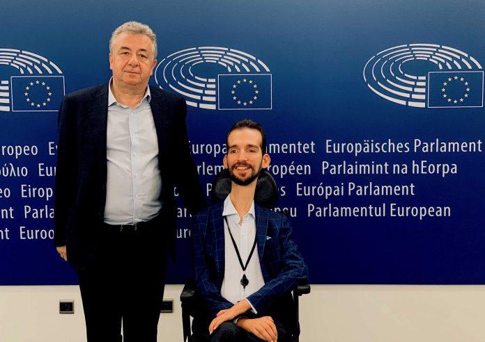 Συνάντηση Αρναουτάκη – Κυμπουρόπουλου στις Βρυξέλλες (pic)