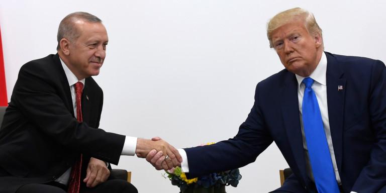 Ερντογάν για την επιστολή Τραμπ: Την πέταξαμε στα σκουπίδια!