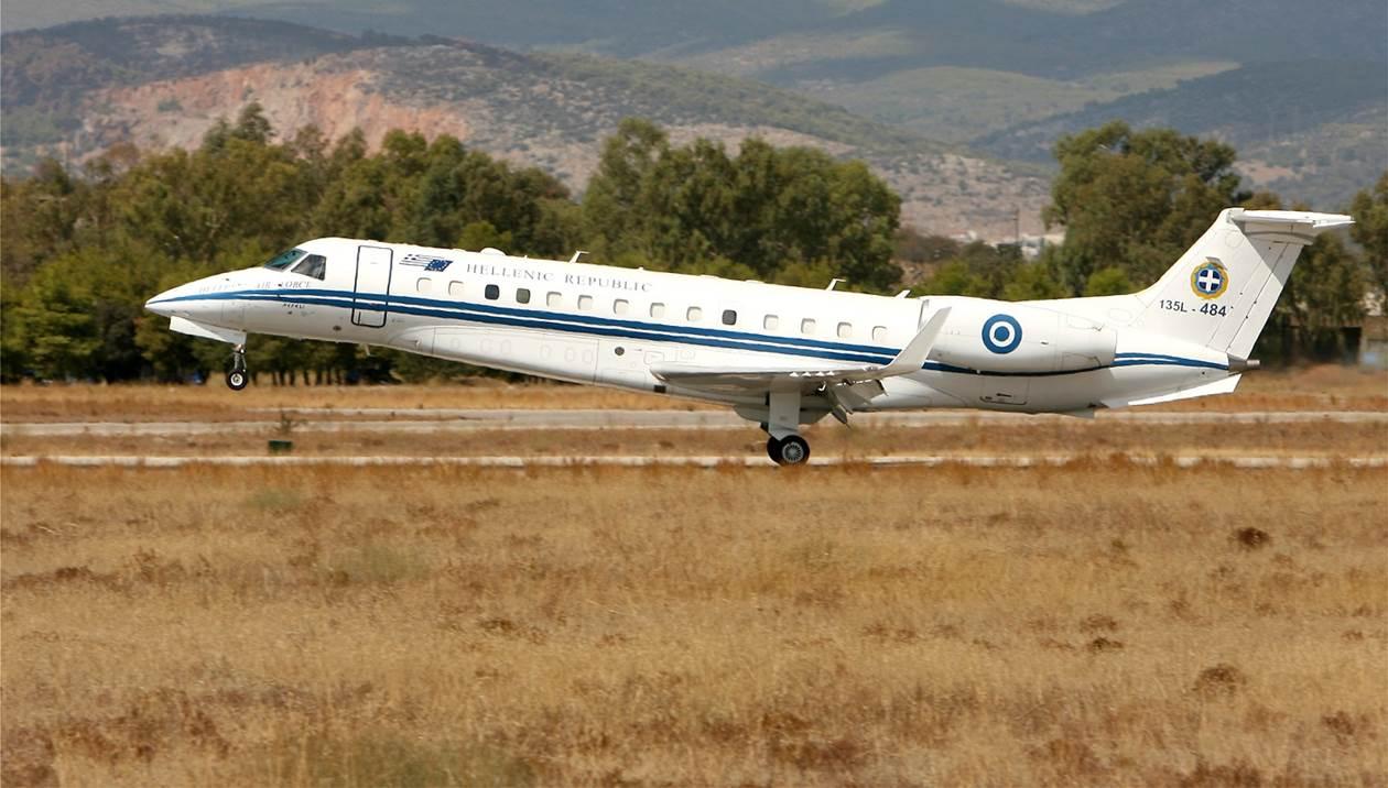 Το Πρωθυπουργικό αεροσκάφος στην Κρήτη για αεροδιακομιδή