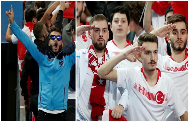 Αμετανόητοι οι Τούρκοι ποδοσφαιριστές: Χαιρέτισαν πάλι στρατιωτικά και τον λόγο έχει η ΟΥΕΦΑ