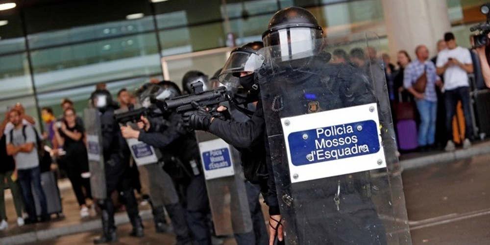 Καταλονία: Ταραχές μεταξύ αστυνομίας και διαδηλωτών μετά την καταδίκη εννέα αυτονομιστών