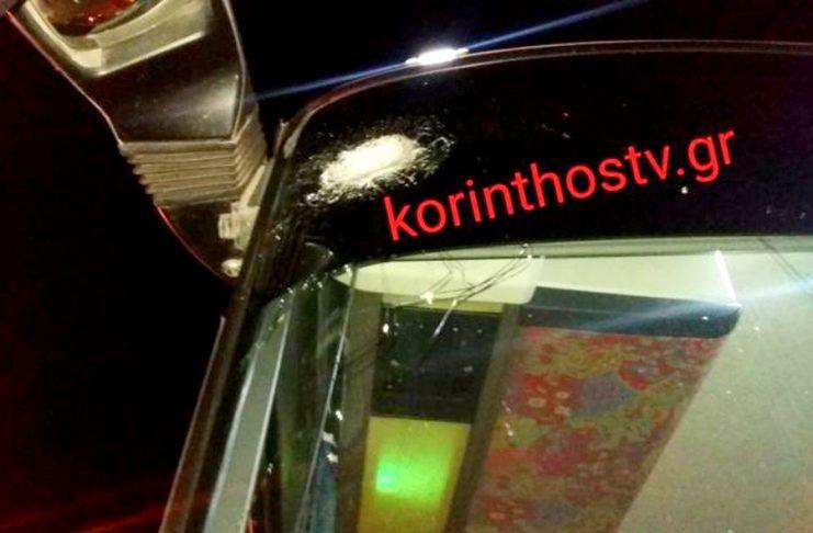 Τρόμος σε λεωφορείο των ΚΤΕΛ Αχαΐας – Δέχτηκε επίθεση με πέτρες