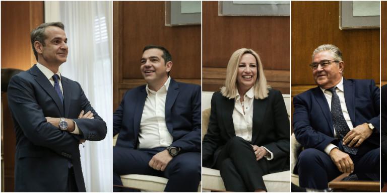 Ψήφος αποδήμων: Πέντε «ναι» και ένα «ίσως» -Τι έγινε στις συναντήσεις Μητσοτάκη με πολιτικούς αρχηγούς