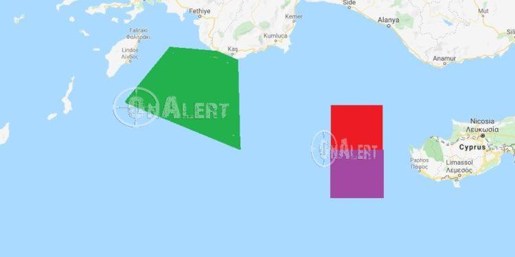 Τουρκία: «Κλειδώνει» Αιγαίο – κυπριακή ΑΟΖ και Καστελόριζο με NAVTEX [pics]
