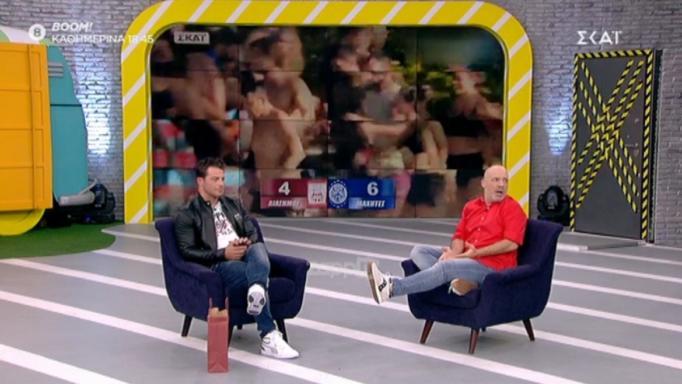 Γιώργος Αγγελόπουλος: Άφωνος ο Νίκος Μουτσινάς – «Πολύ με τάραξε αυτό που είπες…»