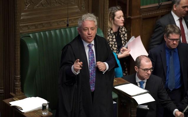 Brexit: Νέο «όχι» από τη Βουλή σε ψηφοφορία για τη συμφωνία