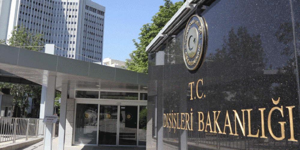 Σκληρή ανακοίνωση του τουρκικού ΥΠΕΞ: Ελλάδα και Κύπρος στηρίζουν την τρομοκρατία