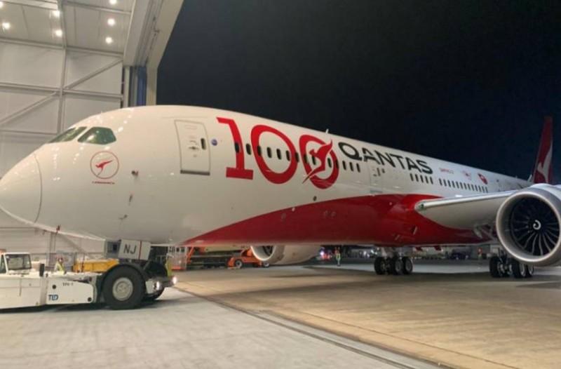 H Qantas «έγραψε» νέα ιστορία: Απευθείας πτήση 19 ωρών Νέα Υόρκη – Σίδνεϊ