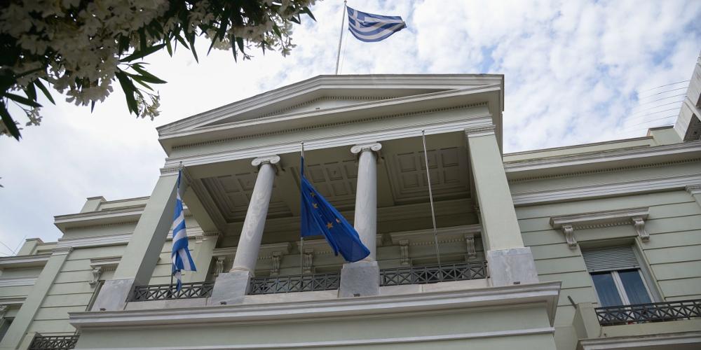 Αυστηρή ανακοίνωση ΥΠΕΞ για Τουρκία: Υπονομεύει την ειρήνη στην ανατολική Μεσόγειο